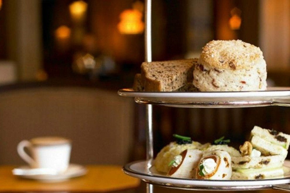 Tea service at the Four Seasons Boston