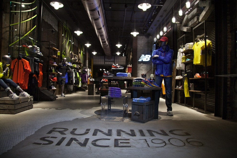 New Balance Shoe Store Locations