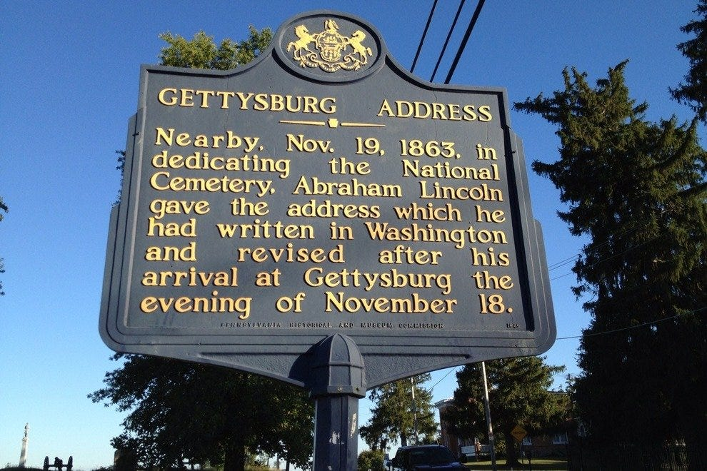 Gettysburg is forever stamped in history