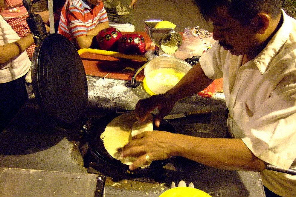 Marquesitas are a local street food dessert