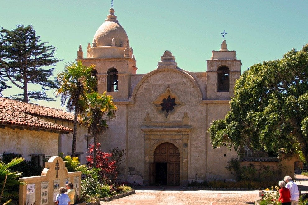 Step Back to the 18th Century at the Historic Carmel Mission