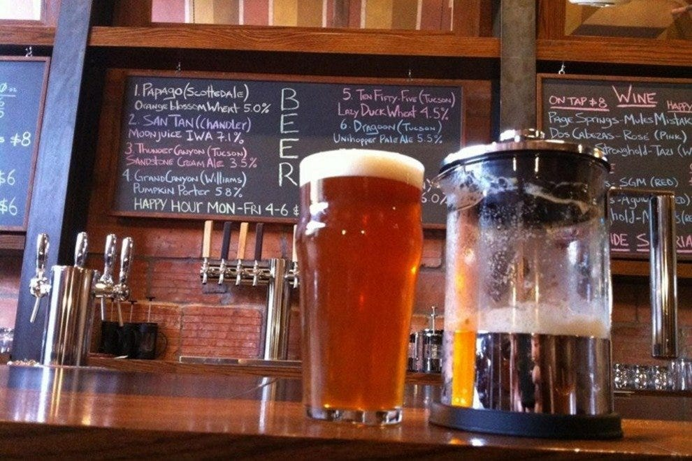 Good Oak Bar in downtown Tucson celebrates Arizona's best beers and wine