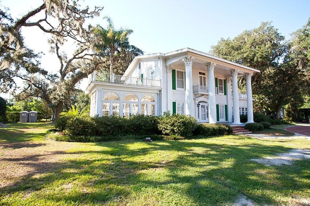 "This historic Orlando home was among those used in the making of  ""Cassadaga."""