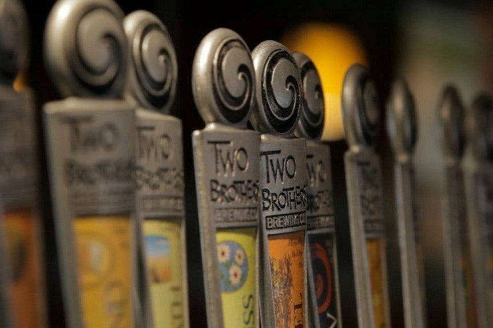 Two Brothers Brewing Company Craft Beer Handles