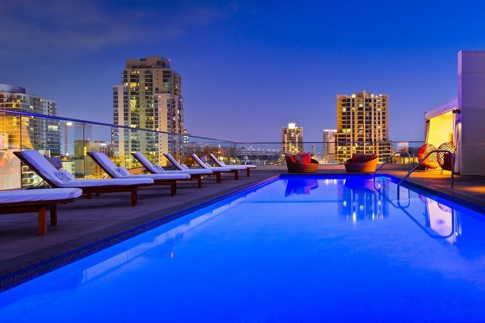 The pool at RoofTop600