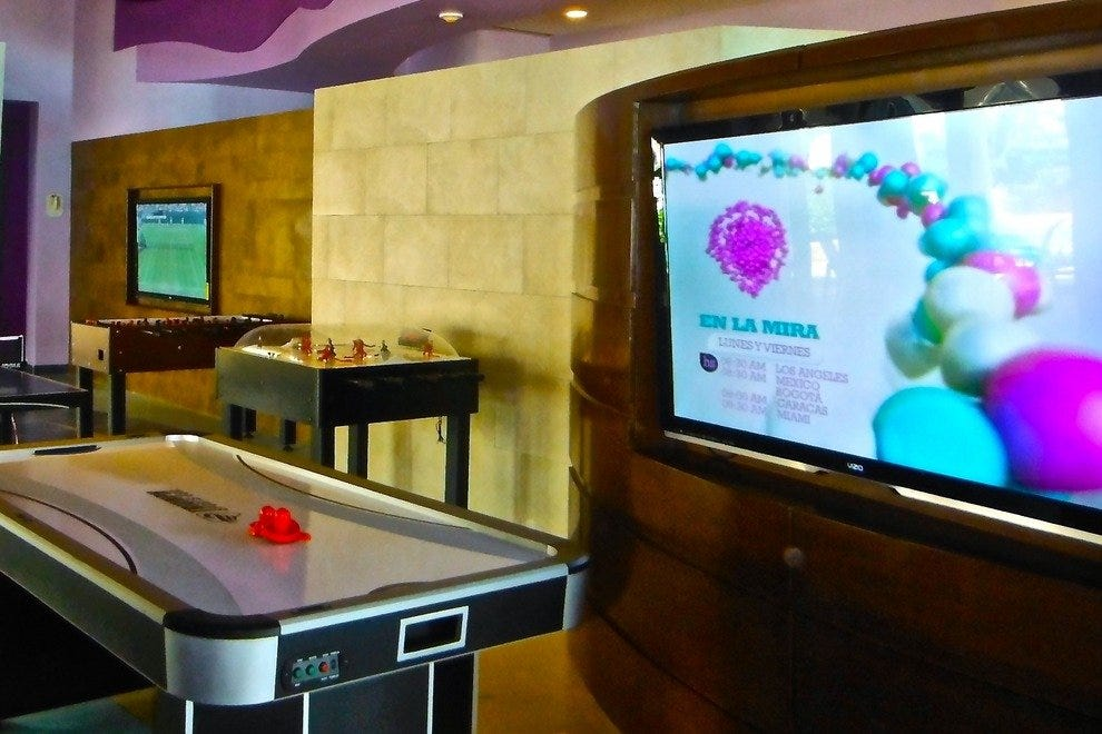 JW Marriott's BeachWalk Game Center is for teens and tweens
