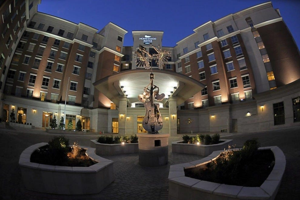 Homewood Suites By Hilton Nashville Vanderbilt Tn This Hotel Opened In