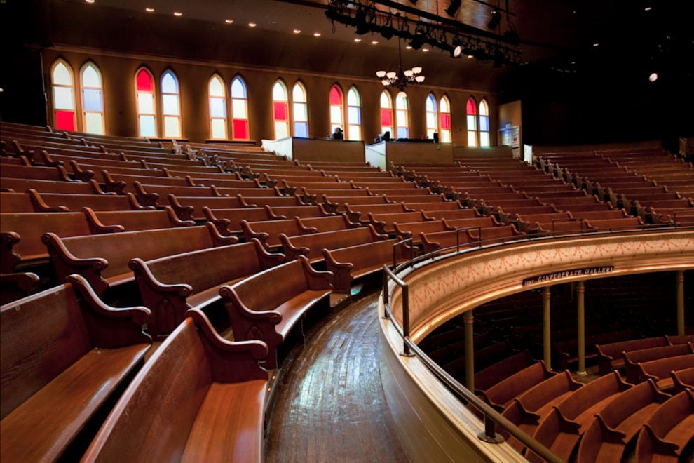 Ryman Auditorium Nashville Attractions Review 10best