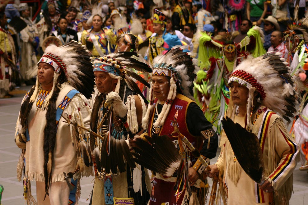 Gathering of Nations in Albuquerque, NM