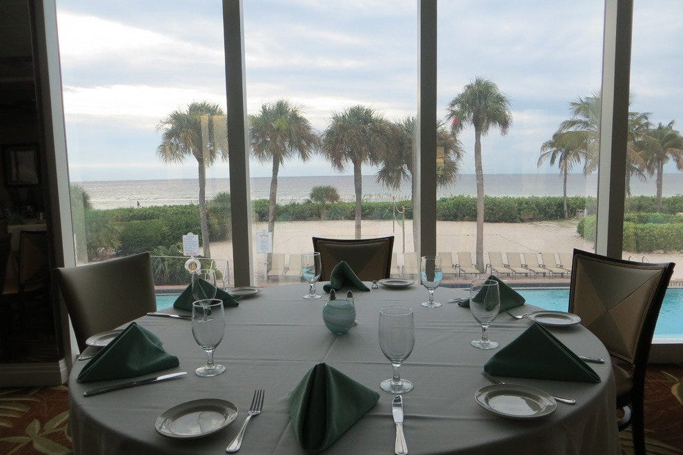 The Waterview Restaurant serves fresh seafood and juicy steaks