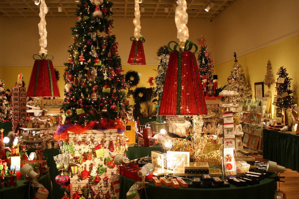 OMA's festival gift shop is a treasure trove of holiday-themed ideas