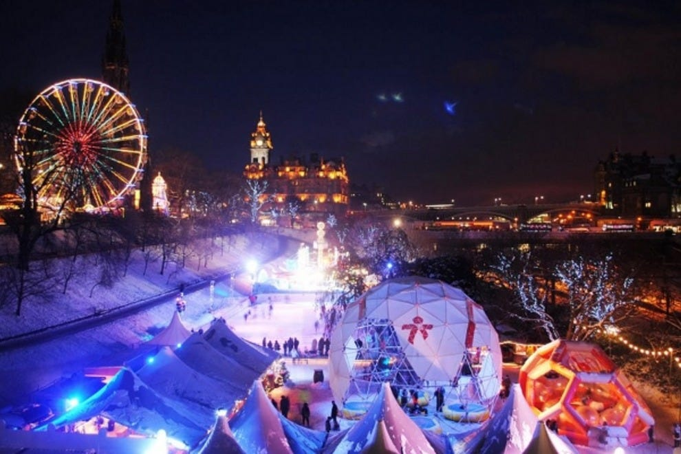 Edinburgh comes alive in December, as the Christmas Markets arrive in the capital. They bring with them an array of twinkling lights, fairground rides, delicious smells and tasty treats. Get in the spirit with some festive market shopping in Princes Street Gardens and then cross the road to hit the high street.
