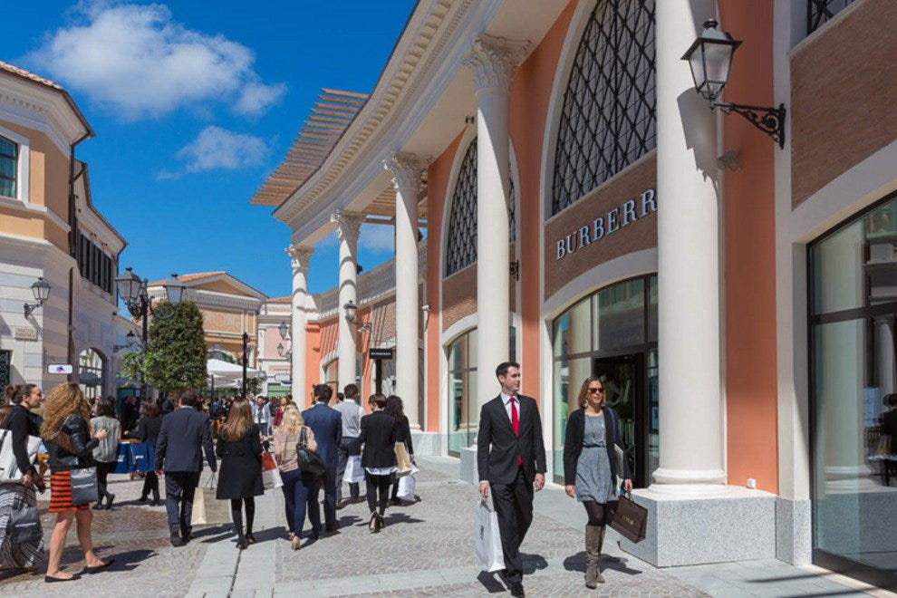 Castel Romano Designer Outlets Rome Shopping Review