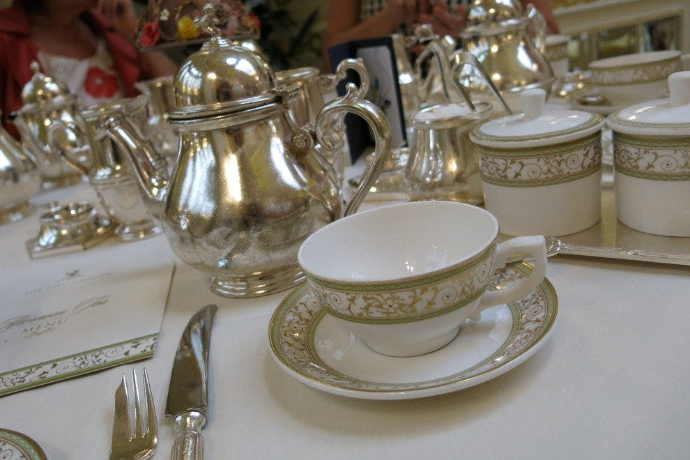 Only the best china at The Ritz