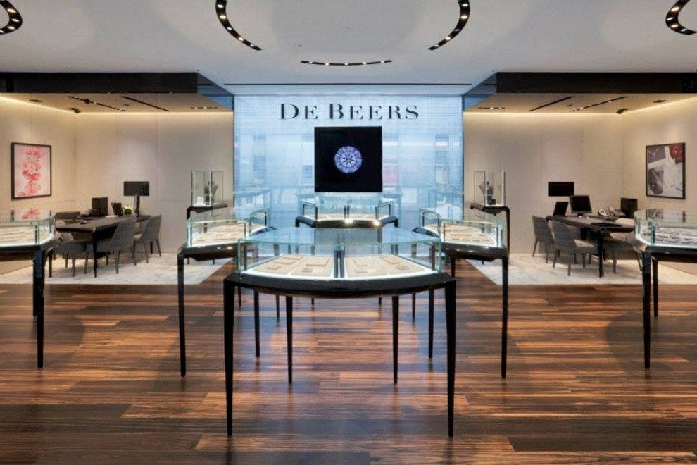 De Beers, the diamond store