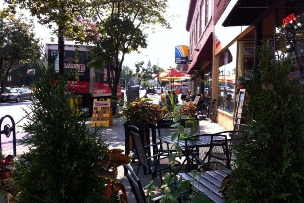 Elmwood Village Shopping Strip