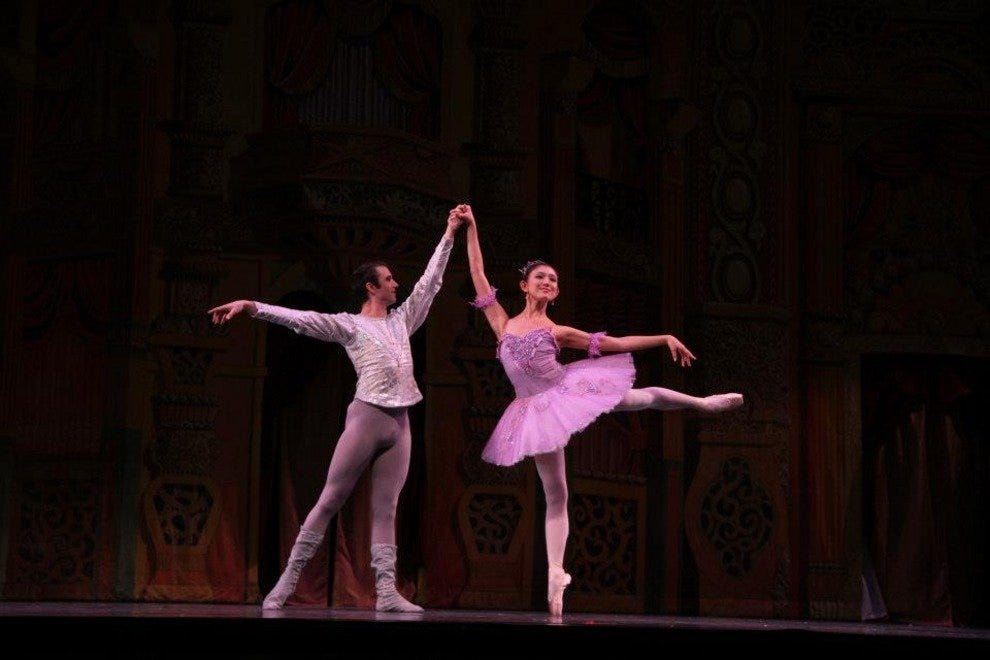 The Sugar Plum Fairy and her Cavalier - Kaori Takai and Jack Stewart