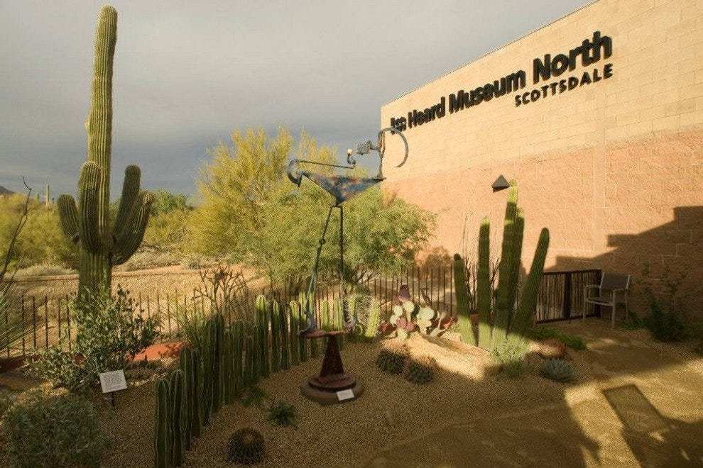 The exterior of Heard Museum North Scottsdale