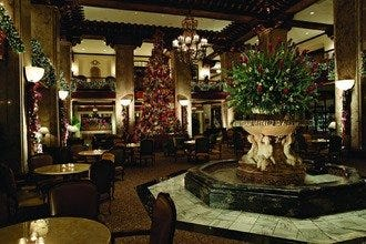 Peabody Hotel Transforms into Winter Wonderland