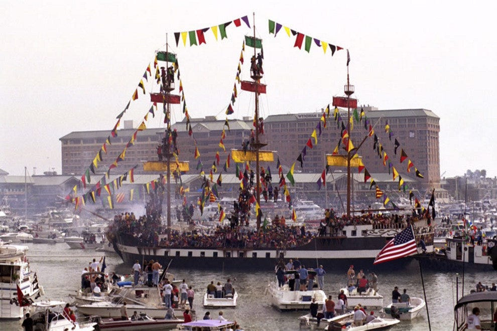 Thousands gather dockside as Gasparilla kicks off with a pirate invasion