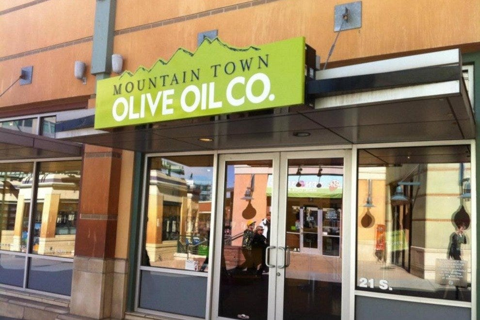 Mountain Town Olive Oil Company in Park City