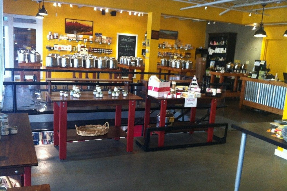 Inside Mountain Town Olive Oil Company