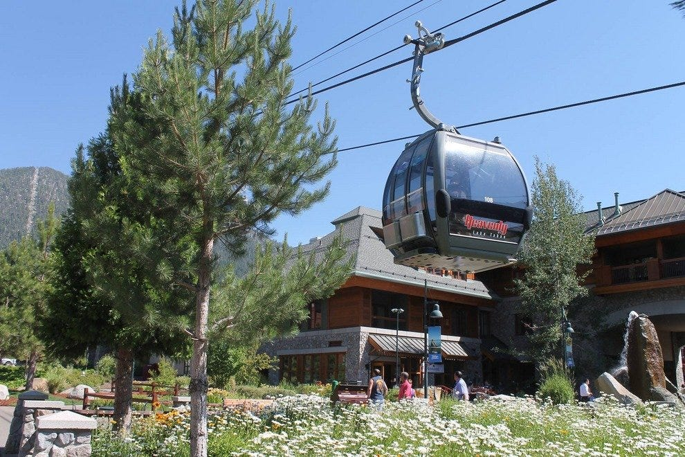 The Gunbarrel Tavern is located right at the base of the Heavenly Gondola