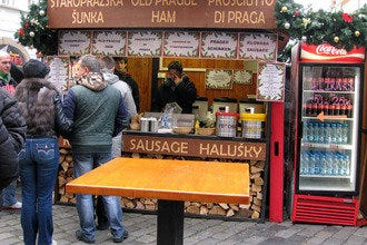 Old Prague Ham Stands