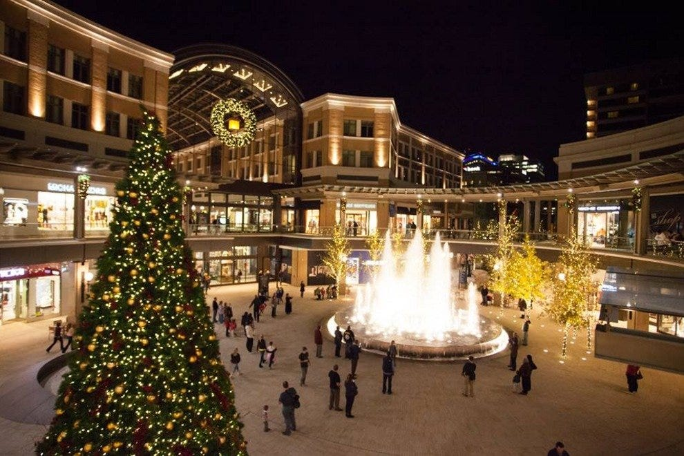 Salt Lake City is a very romantic city during the holidays