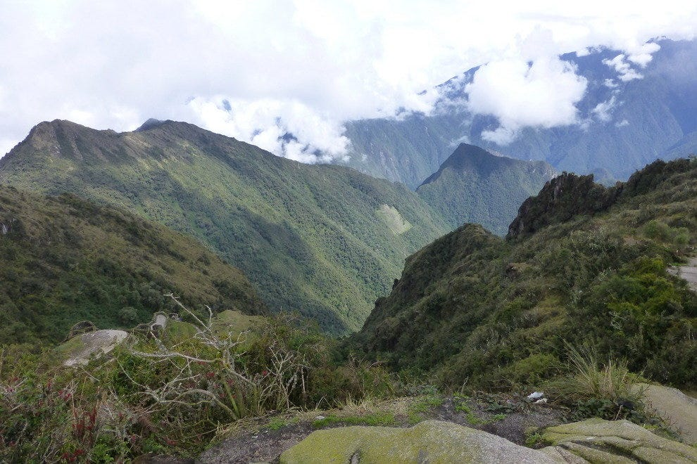 View from the Inca Trail.