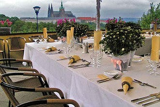 Romantic Dining with Views of Prague's Hundred Spires