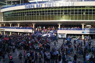Stay Close to the Action at Amalie Arena