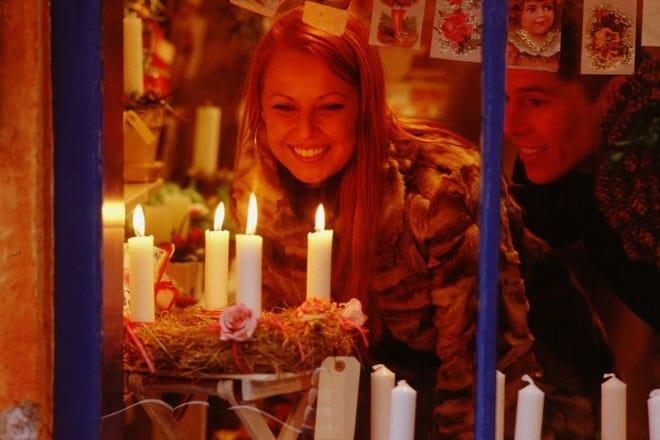 Christmas Shopping in Copenhagen