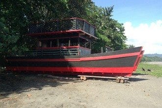 Restaurant The Point Launches Pirate Party Barge in Puerto Viejo