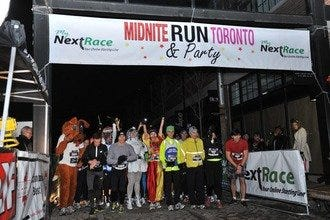 Toronto Midnite New Year's Eve Run