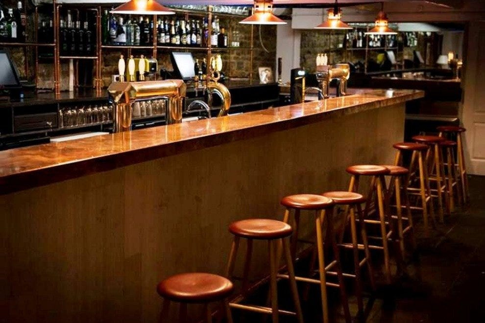 Hang out at the bar or take a table: The decor of The Bird & the Churchkey is inspired by the great British pub