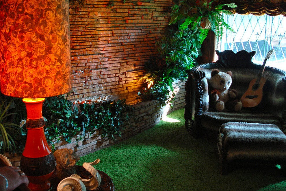 The Jungle Room in Graceland