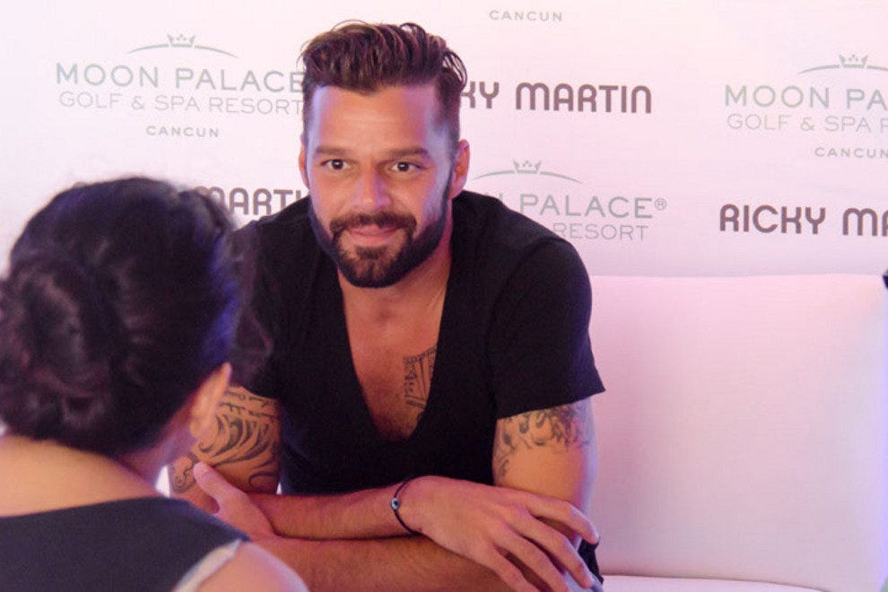 This was Ricky Martin's first concert in either the U.S or Mexico in two years