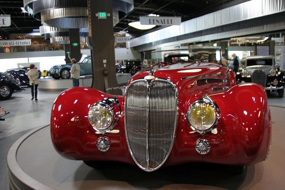 Bugatti, Voisin, Art Deco--Under One Spectacular Roof