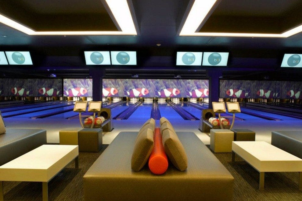 Luxury Bowling and great food