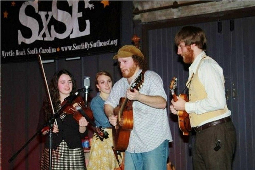 One of many musical acts that South by Southeast has brought to the Myrtle Beach stage