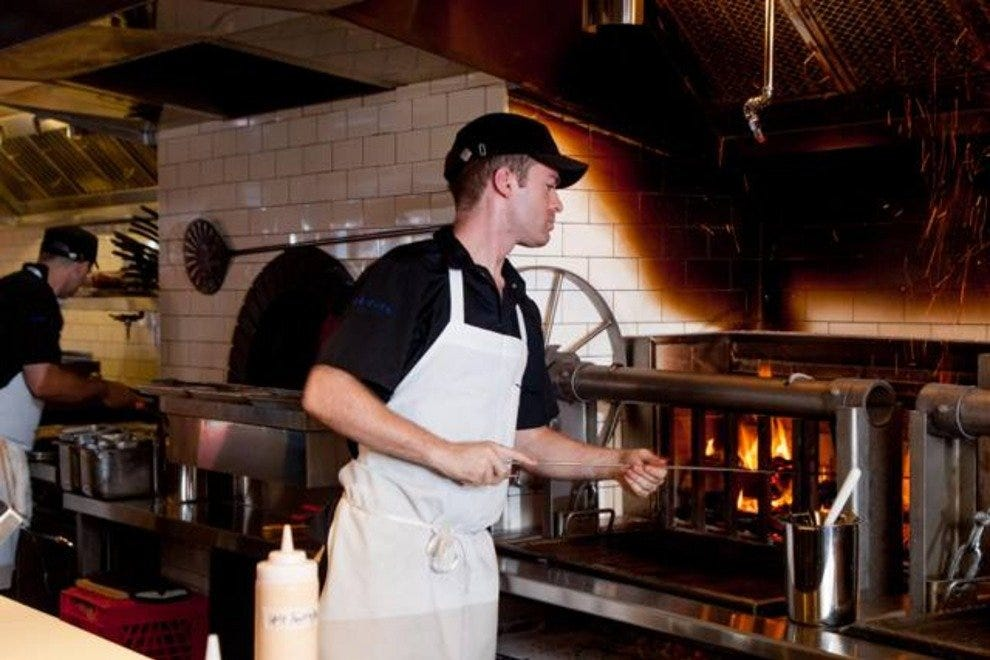 Fog City's wood-fired ovens are all fired up