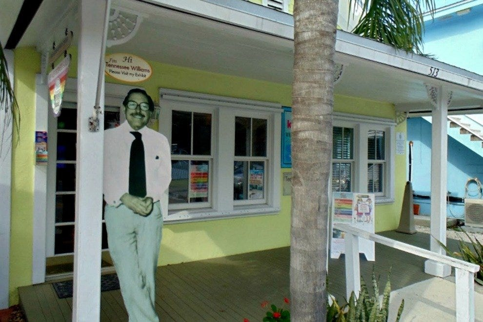 Tennessee Williams in Key West exhibit