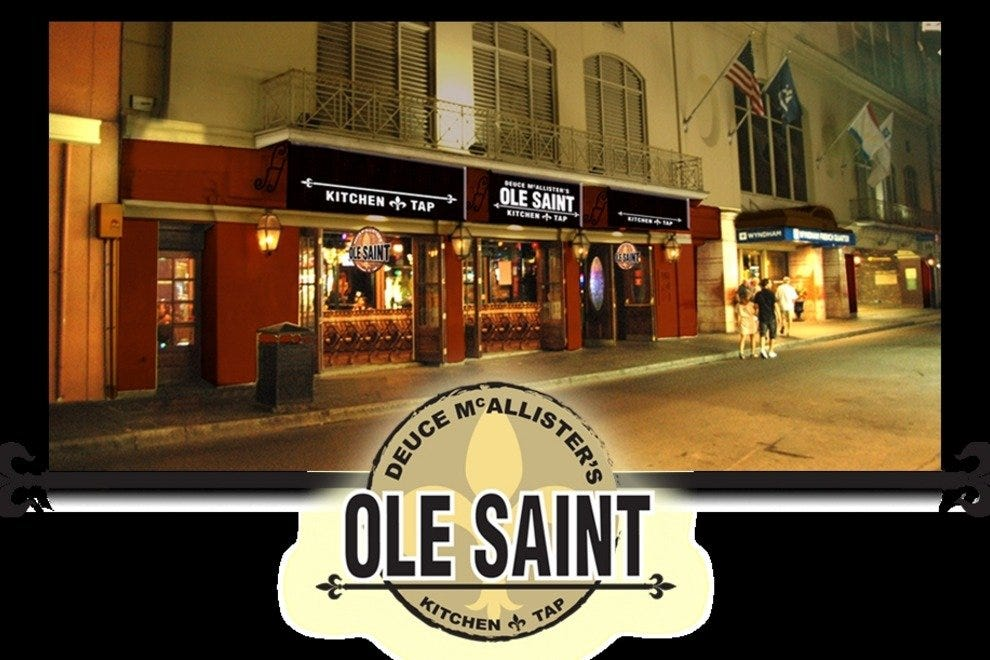 Deuce McAllister's Ole Saint Kitchen and Tap