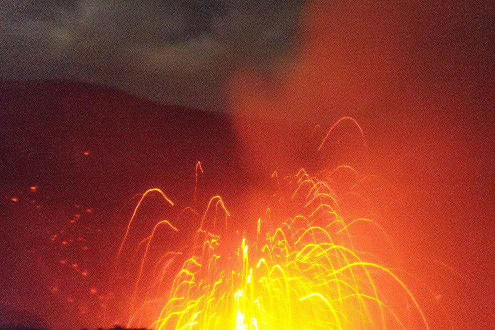 Mount Yasur eruption
