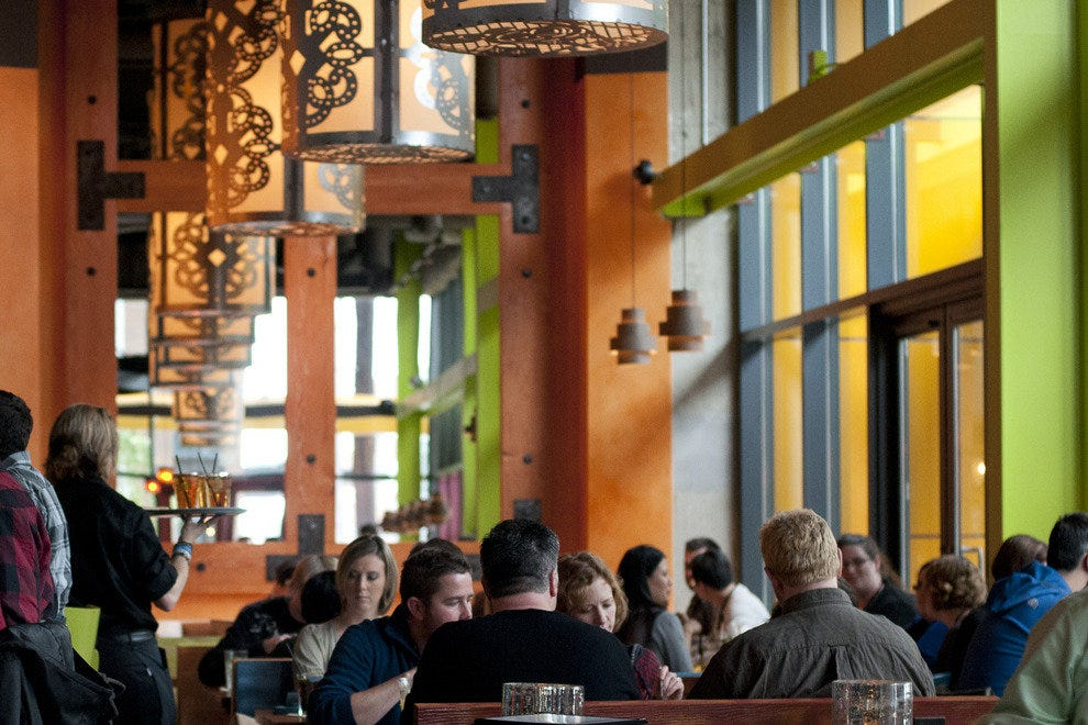 Cactus' South Lake Union outpost bustles with Amazon employees at lunchtime
