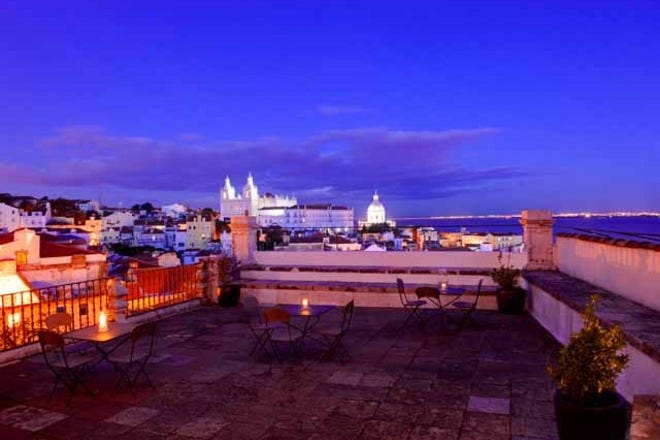 Romantic Hotels in Lisbon. The Loveliest Places to Stay in the City