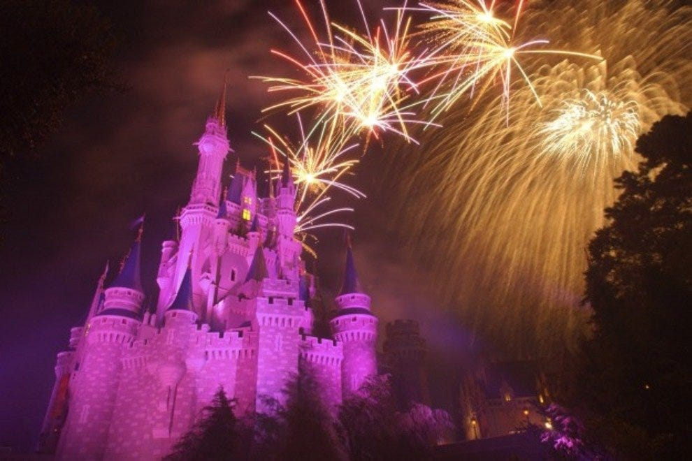 Find Fireworks at Walt Disney World