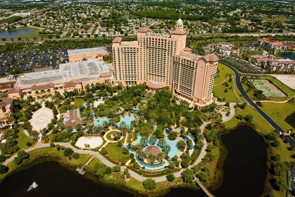 Jw Marriott Orlando Grande Lakes Orlando Hotels Review