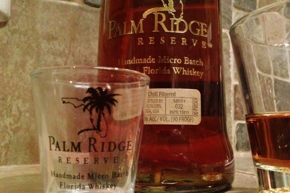 Palm Ridge Reserve took home a silver medal in the 2013 Washington Cup Competition.